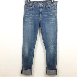 Goldsign for J.Crew Jenny jeans 27
